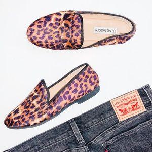 Steve Madden | Cheetah Print Eltonn Loafers